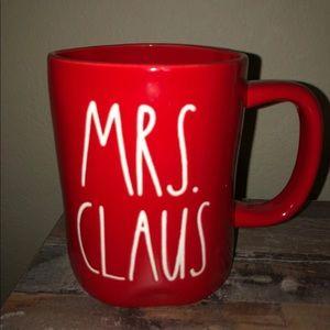 """Rae Dunn Christmas """" Mrs claus"""" Mug!! { NEW}"""